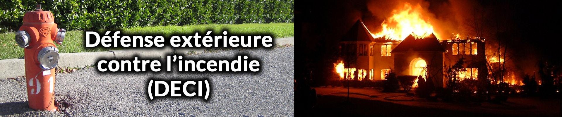 défense extérieure contre l'incendie